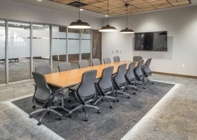 boardroom grey interior lights
