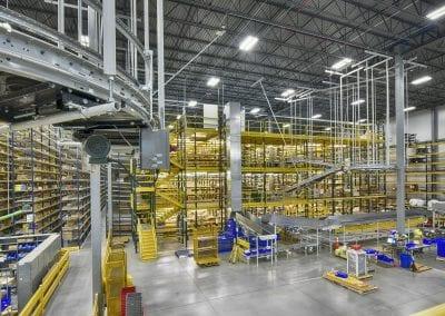 manufacturing plant industrial interior
