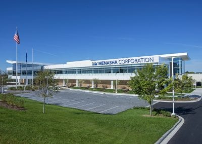 exterior Menasha Corporation headquarters