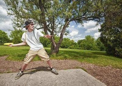 disk golf teen park conceptual