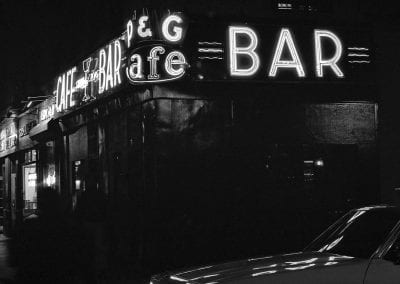 noir NY bar night conceptual
