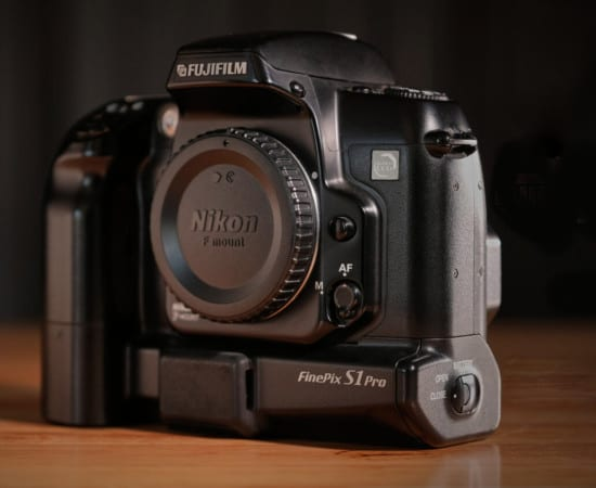 the studio's first pro digital camera
