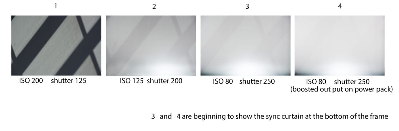 lighting adjustments